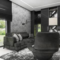 IT IS LIKE OXYGEN | IV | Wnętrza domu: styl , w kategorii Domowe biuro i gabinet zaprojektowany przez ARTDESIGN architektura wnętrz