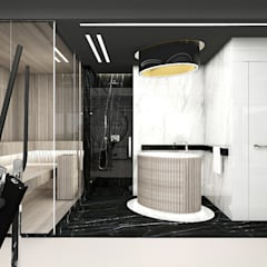 domowe spa: styl , w kategorii Spa zaprojektowany przez ARTDESIGN architektura wnętrz