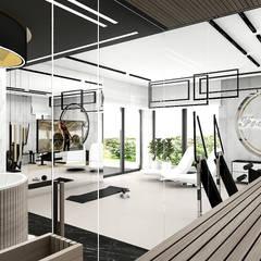 strefa relaksu i rekreacji w domu: styl , w kategorii Spa zaprojektowany przez ARTDESIGN architektura wnętrz