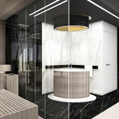 projekt domowego spa: styl , w kategorii Spa zaprojektowany przez ARTDESIGN architektura wnętrz