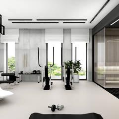 IT IS LIKE OXYGEN | III | Wnętrza domu: styl , w kategorii Siłownia zaprojektowany przez ARTDESIGN architektura wnętrz,