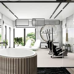 projekt spa i fitness: styl , w kategorii Spa zaprojektowany przez ARTDESIGN architektura wnętrz