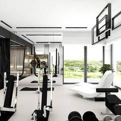 IT IS LIKE OXYGEN | III | Wnętrza domu Nowoczesna siłownia od ARTDESIGN architektura wnętrz Nowoczesny