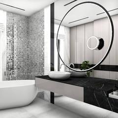 IT IS LIKE OXYGEN   II   Wnętrza domu: styl , w kategorii Łazienka zaprojektowany przez ARTDESIGN architektura wnętrz