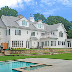 Custom Colonial Home, Westport CT by DeMotte Architects:  Houses by DeMotte Architects, P.C.