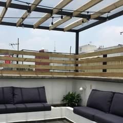 :  Patios & Decks by Hall Arquitectos