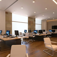 Cubiculos: Oficinas y tiendas de estilo  por Laboratorio Mexicano de Arquitectura