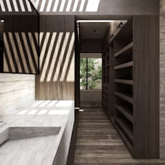 Dressing room by Mouret Arquitectura