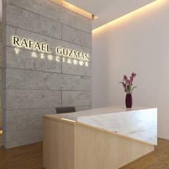 Recepcion: Oficinas y tiendas de estilo  por Laboratorio Mexicano de Arquitectura