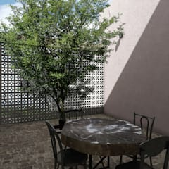 Terrace by Mouret Arquitectura, Rustic