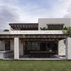 Mouret Arquitecturaが手掛けた一戸建て住宅