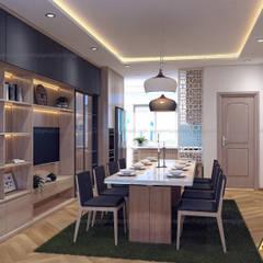 nội thất chung cư:  Phòng ăn by AcilB Design