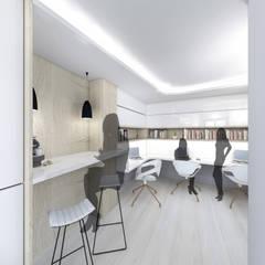 Zona de trabajo y office: Estudios y despachos de estilo  de Loft26