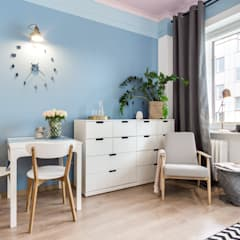 Pink Ceiling : styl , w kategorii Jadalnia zaprojektowany przez DoMilimetra
