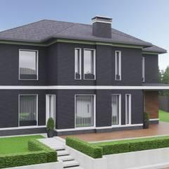 Студия авторского дизайна ASHE Homeが手掛けた別荘