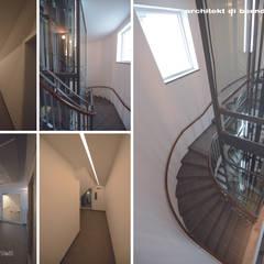 Wohn- und Bürogebäude Tuchlauben:  Treppe von Architekt DI Bernd Brandner