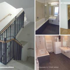 Wohngebäude Rufgasse:  Treppe von Architekt DI Bernd Brandner