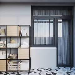 Balkon oleh Студия архитектуры и дизайна Дарьи Ельниковой