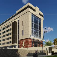 Công trình cải tạo Văn Phòng Q6:  Tòa nhà văn phòng by AcilB Design