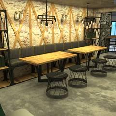 Olifant İçmimarlık ve Tasarım Stüdyosu – COURT COFFEE COMPANY:  tarz Yeme & İçme