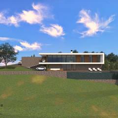 Fincas de estilo  por AMG.ARQ Ângelo Gonçalves, Arquiteto