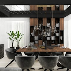 Nowoczesne aranżacje jadalni | ARTDESIGN: styl , w kategorii Jadalnia zaprojektowany przez ARTDESIGN architektura wnętrz,