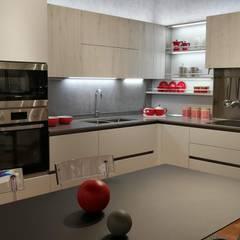 مطبخ ذو قطع مدمجة تنفيذ Formarredo Due design 1967