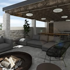 Terrace by Mouret Arquitectura