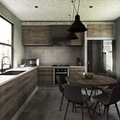 Built-in kitchens by Mouret Arquitectura