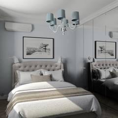 Квартира в классике: Спальни в . Автор – Владимир Мандыбура