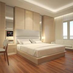 Sangkan Resort Aquapark: Kamar Tidur oleh Dwello Design, Modern