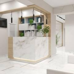 Hospitales de estilo  de Студия авторского дизайна ASHE Home