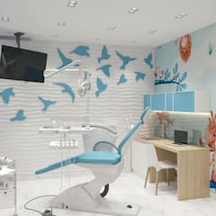 Projekty,  Kliniki zaprojektowane przez Студия авторского дизайна ASHE Home