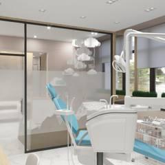 عيادات طبية تنفيذ Студия авторского дизайна ASHE Home