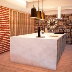Vista 6: Cozinhas  por ORMIGON ARCHI