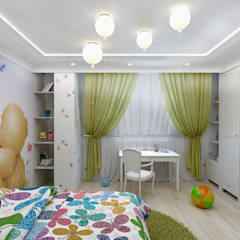 Teen bedroom by Дизайн интерьера в Калининграде. 4LifeDesignStudio