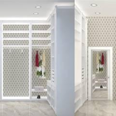 Дизайн-проект трехкомнатной квартиры: Гардеробные в . Автор – Дизайн интерьера в Калининграде. 4LifeDesignStudio