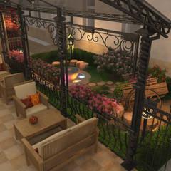 Restaurantes de estilo  por Дизайн интерьера в Калининграде. 4LifeDesignStudio