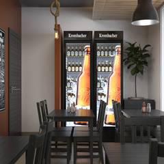 Gastronomía de estilo  por Santoro Design Render