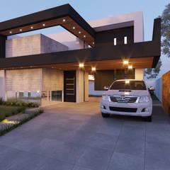 Fachada Frontal: Condomínios  por Alessandro Ramos Arquitetura