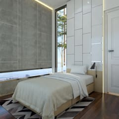 Boys Bedroom by Abil Architect
