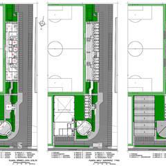 CIIT - CENTRO INTERNACIONAL DE TREINAMENTO DE TAUBATÉ: Fitness  por Douglas Piccolo Arquitetura e Planejamento Visual LTDA.