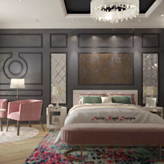 Bedroom by AmiraNayelDesigns