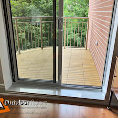 Balcony by Outdoor Floors Toronto, Country Wood-Plastic Composite