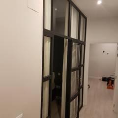 Small bedroom by GrupoSpacio constructores en Madrid, Industrial Iron/Steel
