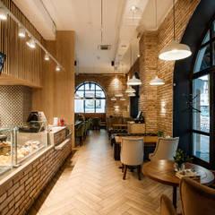 Кафе: Столовые комнаты в . Автор – Дизайн Студия 33