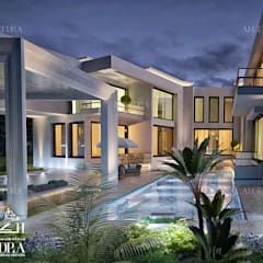 Our Work:  Terrace house by ALGEDRA iç tasarım ,