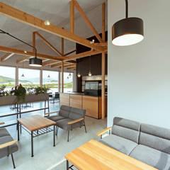 cafe FRAIS: ELD INTERIOR PRODUCTSが手掛けたレストランです。,北欧