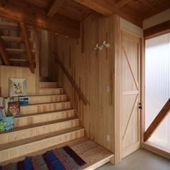 不作為のいえ: u.h architectsが手掛けた階段です。
