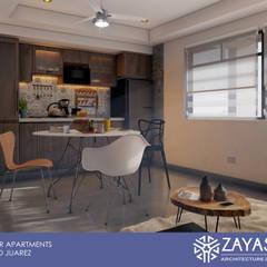Cucina piccola in stile  di Zayas Group